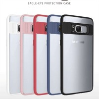 Model: Samsung Galaxy S8 Plus Color: Black ,White ,Red ,Pink ,Blue (pls leave message which color you want,or we will send random) Material: TPU Bumper +PC Plate product thickness: 1mm PC Plate,1.2mm TPU Bumper Package:OPP Bag  product style: simple  prod