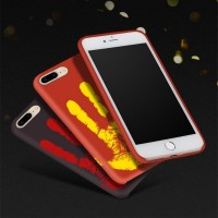 Thermal Sensor Case for iPhone 7 6S 6 Plus Thermal Heat Induction Change Color Phone Back Cover