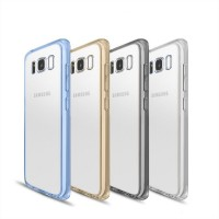 Soft TPU Bumper Clear Case for Samsung Galaxy S8 Plus Ultra thin  Transparent Hybrid Back Cover