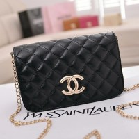 Paris fashion brand of small fragrant wind classic double c women Messenger Bag