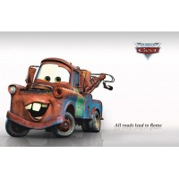 Children Room Cars wall sticker,Sitting room Bedroom Wallpaper Stickers