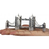 London Tower Bridge - Metal Earth 3D Laser Cut Model (A perfect gift)