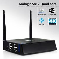 Original S812 K2 Android TV Box Amlogic Ram 2GB Rom 8GB XBMC Kodi Fully Loaded Wifi 2.4G/5G Android TV Box Smart Media Player