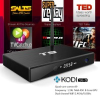 T9 Android 5.1 TV Box KODI 16.0 2G/8G Amlogic S812 Set Top Box With Dual-band 2.4G/5G WiFi Bluetooth 4.0 Smart TV Receiver