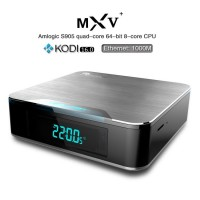 MXV+ MXV Plus Wifi TV Box Amlogic S905 TV Box Android Quad-Core 1G 8G XBMC KODI16.0 Preinstalled Bluetooth IPTV 4K BOX TV