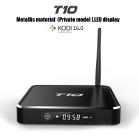 Android4.4 T10 Smart TV Box Android TV Box Kodi16.0 Pre-Installed Amlogic S805 Quad Core Android 4.4 1G 8G Media Player
