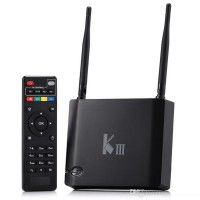 KIII Kodi box Amlogic S905 Quad Core tv box k3 Android 5.1 2G 16G Dual Wifi Receiver 1000M LAN Bluetooth 4K Media Player