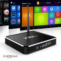 T10 T10 Plus S905 Android TV Box kitkat 2G 8G Quad Core Kodi16.0 OTT Box Amlogic Android5.1 2.0GHZ 4K/3D/1080P WiFi Smart TV BOX