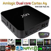 XBMC Fully Loaded MX TV Box Android 4.4 Dual Core 1G+8G Amlogic 8726 A9 HDMI WiFi DLNA Google Smart TV BOX Mini PC MX2 GBOX