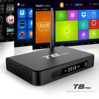 Original T8 Amlogic S812 XBMC fully loaded Android TV Box Quad Core Mali450 4K 2.4G 5G Dual WiFi Kodi16.0 Smart tv box android 2G 8G