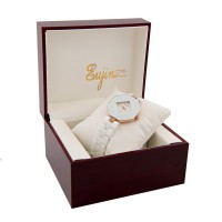 Daybird Saphire Shape Ceramic With Crystal Watch For Ladies / Free Shipping Within Malaysia