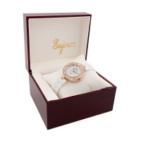 Daybird Ceramic Crystal Watch With Flower Print For Ladies / Free Shipping Within Malaysia