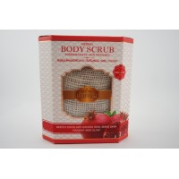 Herbal Body Scrub Pomegranate and Thanaka / Free Shipping Within Malaysia