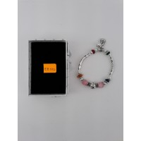 Elastic Bracelet with Crystal Bean for Ladies / Free Shipping Within Malaysia