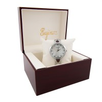 Yaqin Stainless Steel Bracelet Watch With Luxury Stone For Ladies / Free Shipping Within Malaysia