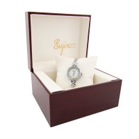 Yaqin Ceramic Face With Crystal Elegant Stainless Steel Watch For Ladies / Free Shipping Within Malaysia