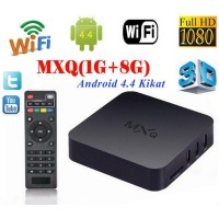 MXQ Smart Quad Core Amlogic S805 Android 4.4 Smart TV Box Media Player 1080P HDMI WiFi 1G/8G USB H.265 HEVC Set-Top Boxes