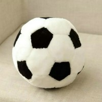 New 25Cm Cute Fat Black White Football Plush Toys Plush Round Ball Cloth Doll Pillow Soft Cushion kids toys birthday gift