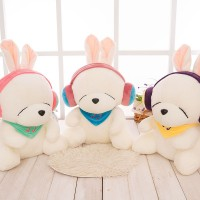Hot Biggest Size 60cm Cute Lovers Rabbit Plush Toys 3 Colors Plush Rabbit Cloth Doll Christmas present Childrens girl kids toys