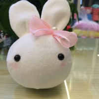 Super Cute Mini 13*9cm Lovely Rabbit plush toys baby toys Small rabbit Head cloth doll Birthday gift Girl day