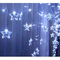 16 stars 2meter led string 104 leds light high brightness 6W indoor decoration dreamy colorful for festival