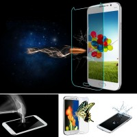 10pcs/lot For Samsung Galaxy S4 i9500 0.26mm Ultra Thin HD 2.5D Tempered Glass Screen Protector