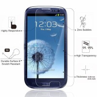 5PCS/lot 9H 2.5D Tempered Glass Screen Protector for Samsung Galaxy S3 i9300 i9305 LCD Screen Protective Film