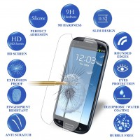 Front 0.3mm 9H 2.5D Explosion-proof Premium Tempered Glass Screen Protector for For Samsung S3 Protective Film