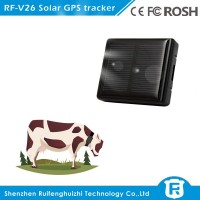 mini waterproof solar powered cow gps tracker tracking system