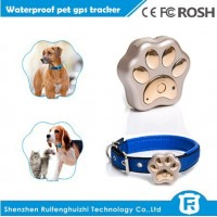 new products mini waterproof pet tracker gps collar for dogs