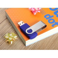 custom logo Swivel Usb Flash Drive 64G swivel Flash Drive memory disk pen drive USB 2.0 USB 32GB  64GB 128GB pen drive