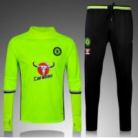 Thai Quality 2016/2017 Chelsea tracksuit 16/17 Chelsea home away football sportswear