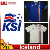2016 2017 Thailand quality Iceland Soccer jersey 16/17 Iceland survetement football jersey maillot de foot Free shipping