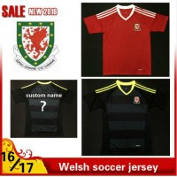 2016 2017 Thailand quality Welsh Soccer jersey 16/17 Welsh survetement football jersey maillot de foot Free shipping