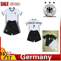 2016 2017 Thailand quality Germany Soccer jersey kids kits 16/17 Germany survetement child football jersey maillot de foot Free shipping