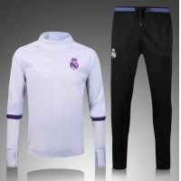 2016 2017 Thailand quality reals Madrid tracksuit 16/17 Ronaldo Benzema Bale James isco Modric survetement football sportswear maillot de foot Free shipping
