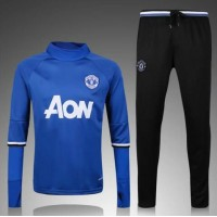 Thai Quality 2016/2017 Manchester United tracksuit 16/17 IBRAHIMOVIC rooney home away football sportwear