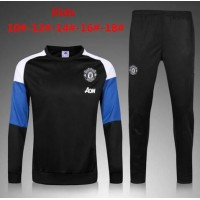 Thai Quality 2016/2017 Manchester United child tracksuit 16/17 IBRAHIMOVIC rooney home away football child sportwear