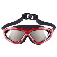 Fashion Adjustable Swimming Mariner Adult Goggles Anti Fog Chrome-plated Glasses