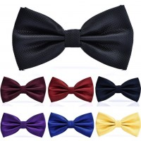 2017 NEW Men's Polyester Cotton bow ties for men wedding Neckwear