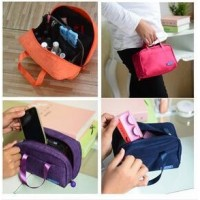 Fashion cosmetic bags washing bag waterproof  women Documents bag