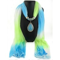 Pendants scarves gradient color scarves fashion Korean water droplets pendants scarves