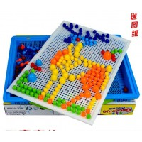 New 296 child baby Early Learning Puzzle Boxed plastic Flapper Puzzle Variety Creative