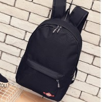 The original single foreign trade export, Japan and the leisure backpack muji pure color backpack wind bag bag canvas college men and women