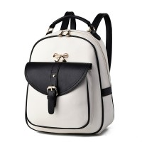 The new shoulders female bag fashion temperament easy han edition student leisure backpack backpack bag