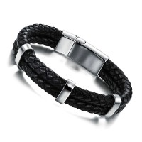 Features black man punk FengRi han edition bracelet braided leather fashion hand act the role ofing is tasted The city boy necessary N899