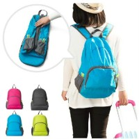 Outdoor portable foldable backpack backpack to travel Waterproof nylon sports skin bag backpack