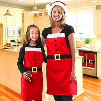 Christmas commodity Selling Christmas decorations Christmas apron Family Christmas party supplies