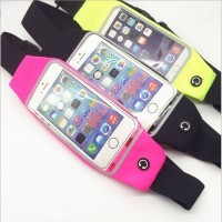 Phone Pockets Outdoor Sports Men and Women Running Belt Can Touch Multifunction Waterproof Pockets