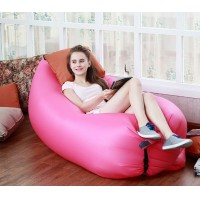 Lightweight fast Inflatable Lazy Air Sofa Sleep Bed Lounger Couch Hiking Tool Inflatable Sofa for Outdoor Activities